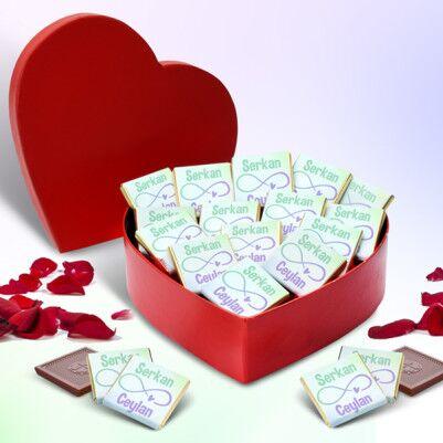 - Sonsuza Dek Seninle Kalp Kutuda Çikolatalar