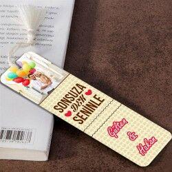 Sonsuza Dek Seninle Kitap Ayracı - Thumbnail