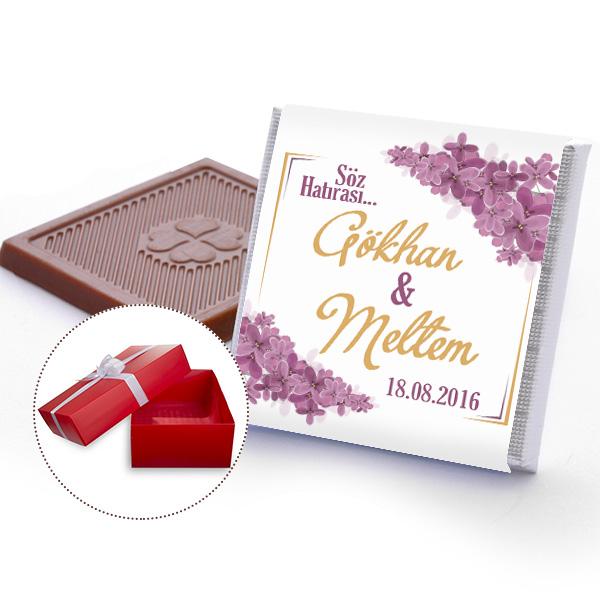 Söz Çikolatası Kişiye Özel