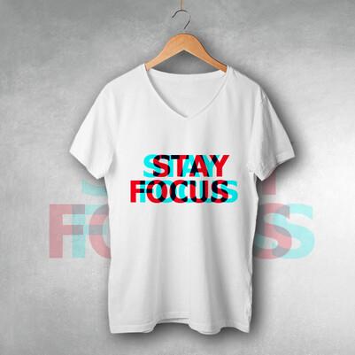 Stay Focus Unisex Tişört - Thumbnail