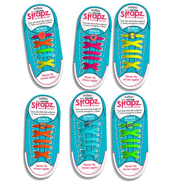Strapz - Renkli Pratik Ayakkabı Bağcığı