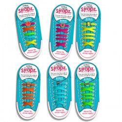 - Strapz - Renkli Pratik Ayakkabı Bağcığı