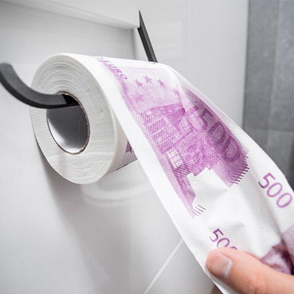 500 Euro Tuvalet Kağıdı