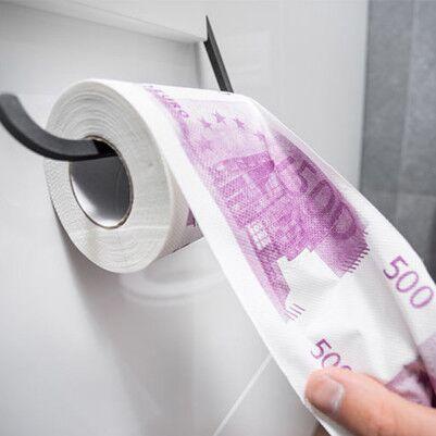500 Euro Tuvalet Kağıdı - Thumbnail