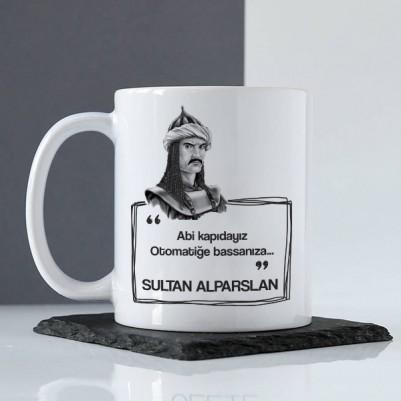 Sultan Alparslan Esprili Kupa Bardak - Thumbnail