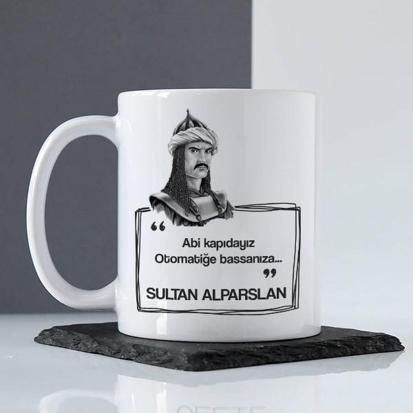 Sultan Alparslan Esprili Kupa Bardak
