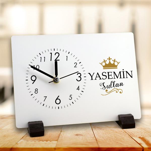 Sultanlara Layık Ahşap Masa Saati