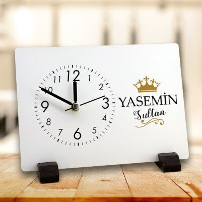 - Sultanlara Layık Ahşap Masa Saati