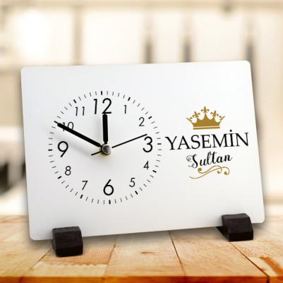 - Sultanlara Özel MDF Masa Saati