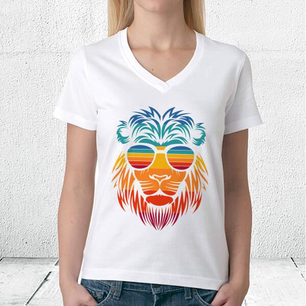 Summer Lion Tasarım Unisex Tişört