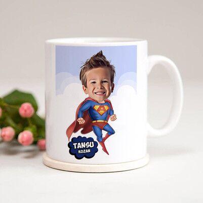 - Süper Çocuk Karikatürlü Kupa Bardak