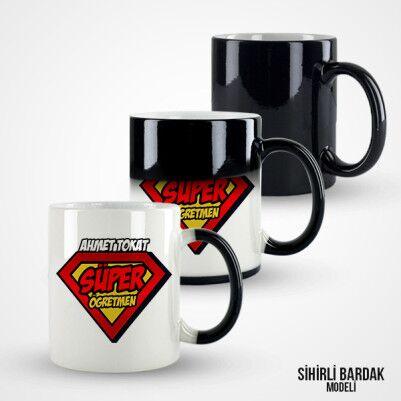 Süper Öğretmen Kupa Bardak - Thumbnail