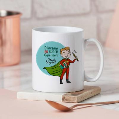 - Süper Öğretmenim Kahve Kupası
