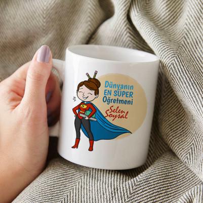 Süper Öğretmenim Kupa Bardak - Thumbnail