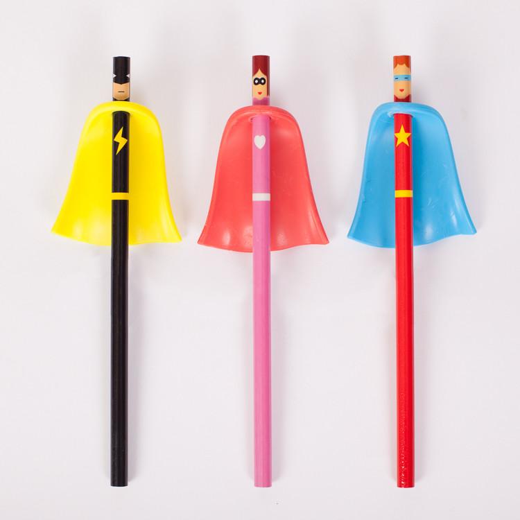 Superhero Pencils - Süper Kahraman Kalemler