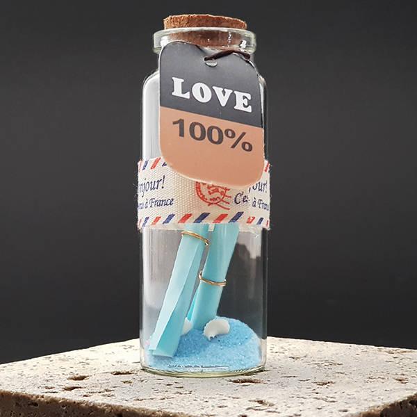 Sürpriz Aşk Mesajı Şişeleri