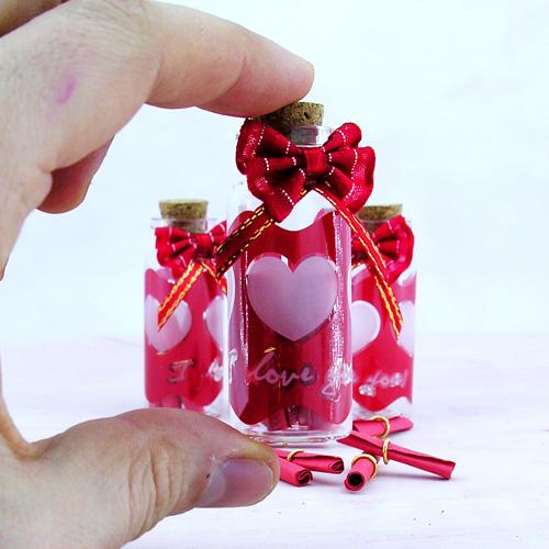 Sürpriz Mini Mesaj şişesi