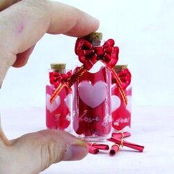 Sürpriz Mini Mesaj şişesi - Thumbnail