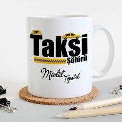 - Taksicilere Özel İsim Yazılı Kupa Bardak