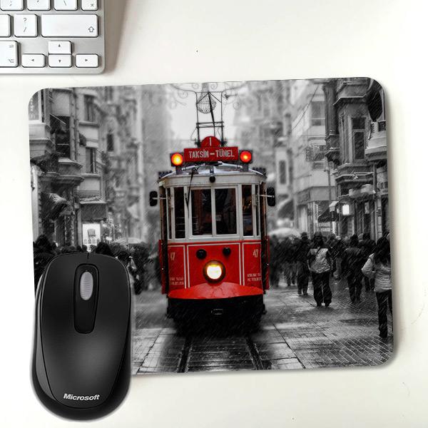 Taksim Tramvay Temalı Mousepad