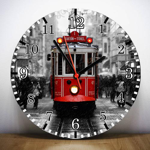 Taksim Tünel Tramvayı Duvar Saati