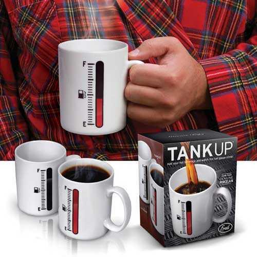 Tank Up Mug - Benzin Göstergeli Kupa Bardak