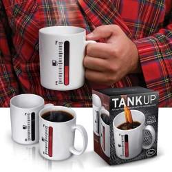 Tank Up Mug - Benzin Göstergeli Kupa Bardak - Thumbnail