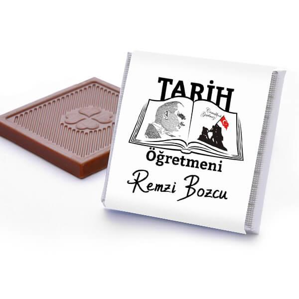 Tarih Öğretmenine Hediye Çikolata Kutusu