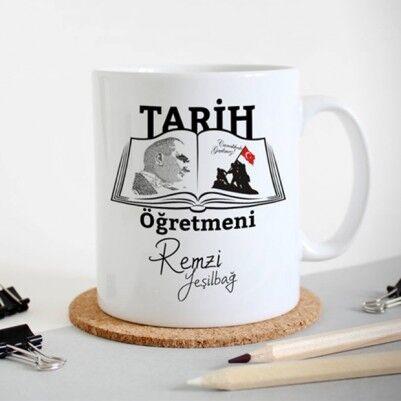 - Tarih Öğretmenlerine Özel Kupa Bardak