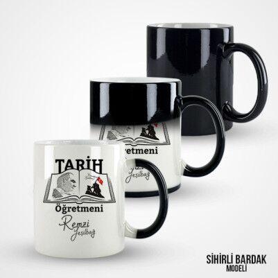 Tarih Öğretmenlerine Özel Kupa Bardak - Thumbnail