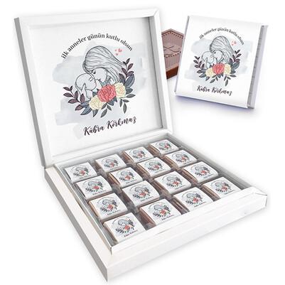 - Tasarım İlk Anneler Günü Çikolata Kutusu