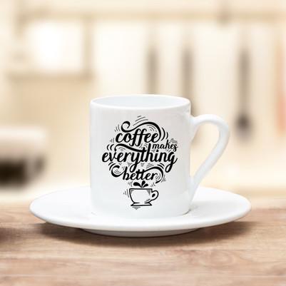 - Tasarım Kahve Fincanı
