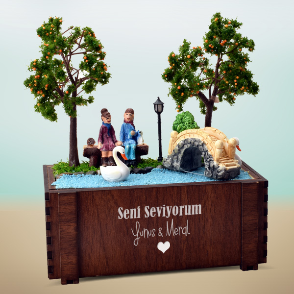 Tatlı Hayallerimiz Minyatür Aşk Bahçesi