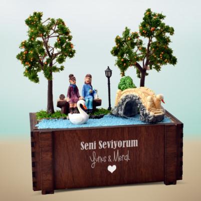Tatlı Hayallerimiz Minyatür Aşk Bahçesi - Thumbnail