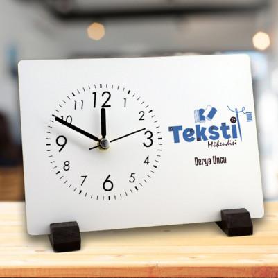 - Tekstil Mühendislerine Özel Masa Saati