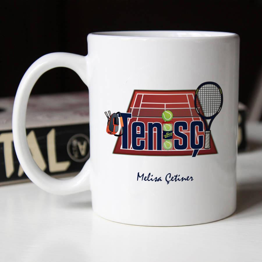 Tenisçilere Özel Kupa Bardak