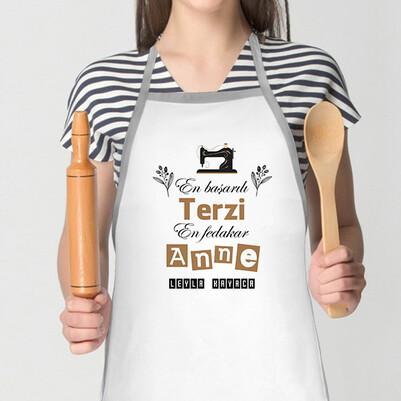 - Terzi Annelere Özel Mutfak Önlüğü