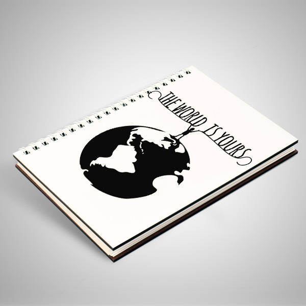 The World Is Yours Motto Defter