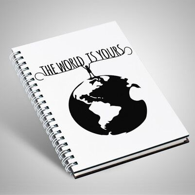 - The World Is Yours Motto Defter