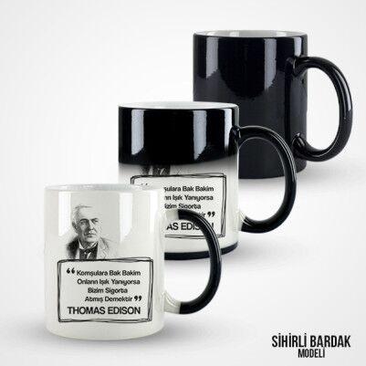Thomas Edison Esprili Kupa Bardak - Thumbnail
