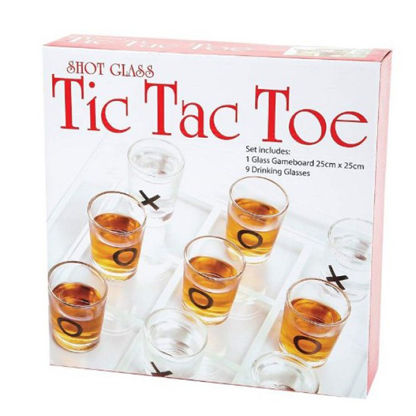 Tic Tac Toe Shot Bardaklı XOX Oyunu