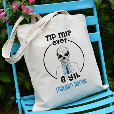- Tıp Öğrencilerine Özel Bez Çanta