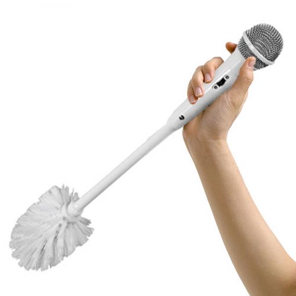 Toilet Brush - Mikrofon Tuvalet Fırçası