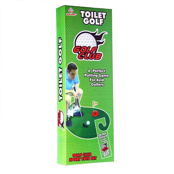 Toilet Golf - Tuvalet Golf Oyun Seti