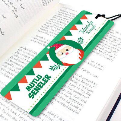 - Tonton Noel Baba Tasarımlı Kitap Ayracı