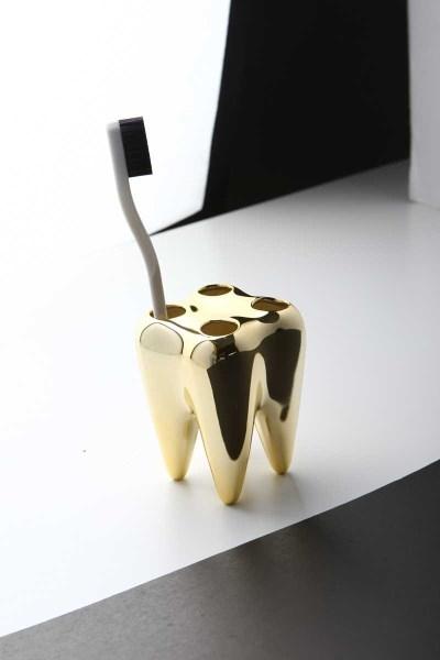Toothbrush Holder - Diş Şeklinde Diş Fırçalık