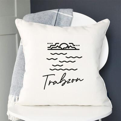 - Trabzon Tasarımlı Yastık