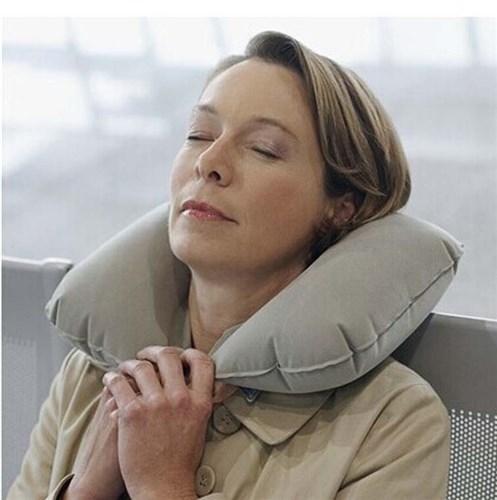 Travel Pillow - Şişme Seyahat Yastığı