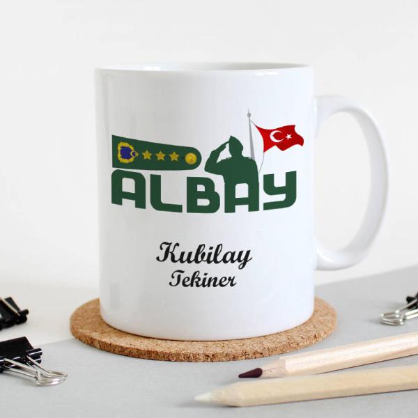 TSK - Albay Temalı Kupa Bardak