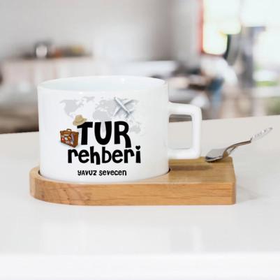 - Tur Rehberlerine Özel Çay Fincanı
